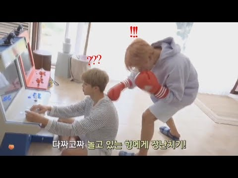 Jungkook and Jimin (정국 & 지민 BTS) - cute and funny moments