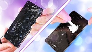 In this video I attempt to repair a smashed up phone by replacing only the front glass digitizer to keep the costs to a minimum. Will I succeed? Let's find out!Tools ⇨ http://amzn.to/2qz74JCUK tools:                                 http://amzn.to/2pESGur