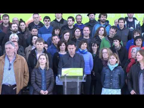 Hasier Arraiz: 2015. urteko Aberri Eguneko EH Bilduren eta EH Bairen agiria