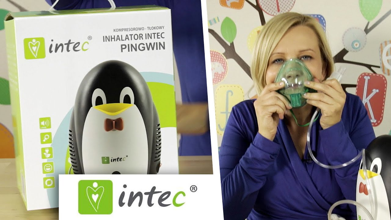 Inhalator Kompresowo - Tłokowy Pingwin, Intec Medical