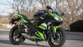 7. 2017 Kawasaki Ninja 650 Full Review Specifications