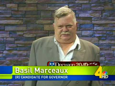 Basil Marceaux For Governor of Tennessee