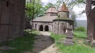 Klasztor Sanahin w Armenii