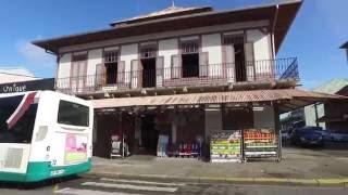 Walking Around Cayenne, the capital city in French Guiana Aug 2016 - DJI OSMO.