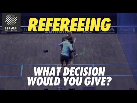Squash Refereeing: Mohamed Abouelghar v Nicolas Müller - Yes let