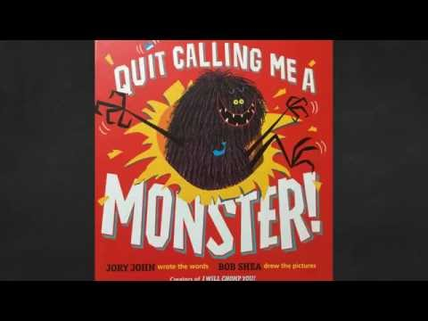 Mitten Tales - Books For Children - Quit Calling Me A Monster