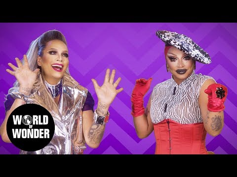 FASHION PHOTO RUVIEW: Season 10 Entrance Looks with Raven and Raja