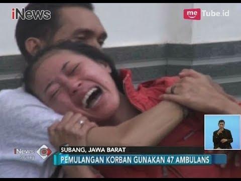 Download Video Tangis Histeris Salah Satu Anak Korban Kecelakaan Maut Tanjakan Emen, Subang - INews Siang 11/02