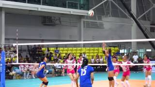 Thai National Team Volleyball Vs Iron Ladies 2014