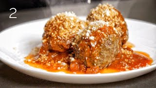 The Juiciest Italian Meatballs I Have Ever Made. [NYC] by Alex French Guy Cooking