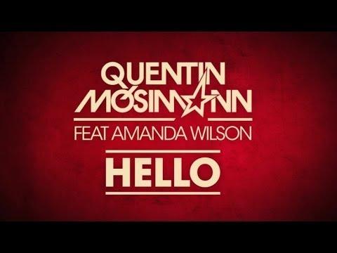 Tekst piosenki Quentin Mosimann - Hello (Feat. Amanda Wilson) po polsku