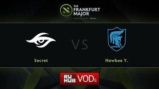Secret vs Newbee.Y, game 3