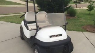 8. My New 2010 Club Car Precedent