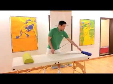 Aspekte beim Kauf Massageliege Teil 1 = Länge und Breite