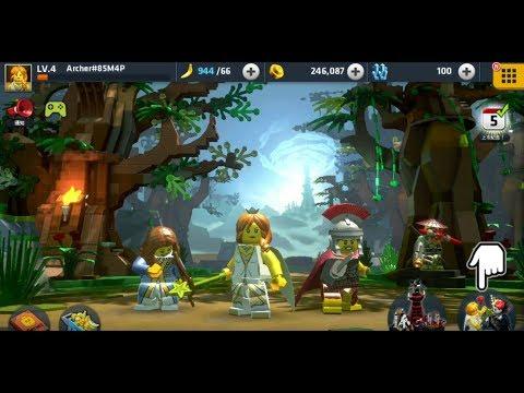 《樂高:任務與蒐集 LEGO Quest & Collect》手機遊戲 Gameplay!
