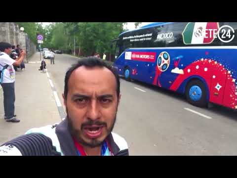 Este es el autobús del Tri en Rusia 2018