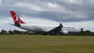 Nonton Takeoff Turkish Airlines Flight Tk160 Leg 2  Mru   Tnr Film Subtitle Indonesia Streaming Movie Download