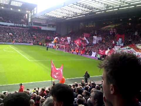 Liverpool Team Being Announced Before Kick Off Vs City