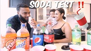 Video GUESS THAT SODA BRAND CHALLENGE ft. BABY LEGEND | LOSER HAS TO DRINK BABY MILK MP3, 3GP, MP4, WEBM, AVI, FLV September 2019