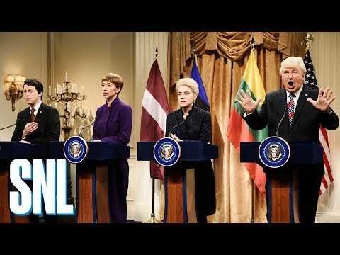Donald Trump Baltic States Cold Open - SNL