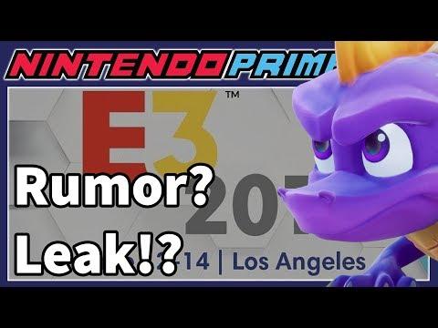 New Rumor Leaks Entire Switch E3 Presentation & Online Details