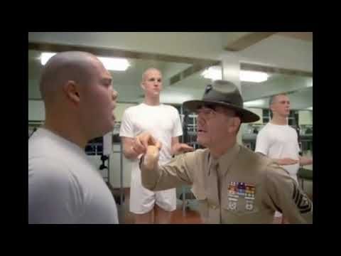 JELLY DONUT SCENE - FULL METAL JACKET - R. LEE ERMEY