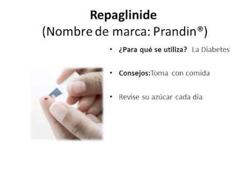 Repaglinide - Spanish