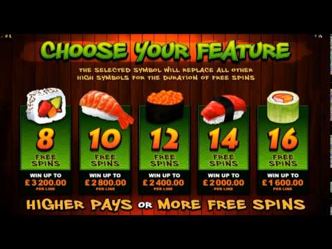 So Much Sushi Online Slot Microgaming
