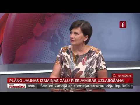 Veselības ministres Ilzes Viņķeles saruna LTV Rīta Panorāma par zāļu cenām un to pieejamību