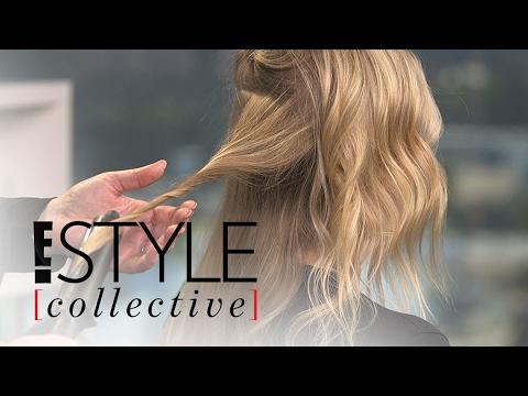 Celeb Hairstylist Kristin Ess Demos Modern Waves Two Ways | E! Style Collective | E! News