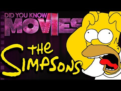 The Simpsons Almost DIED! | Did You Know Movies (видео)