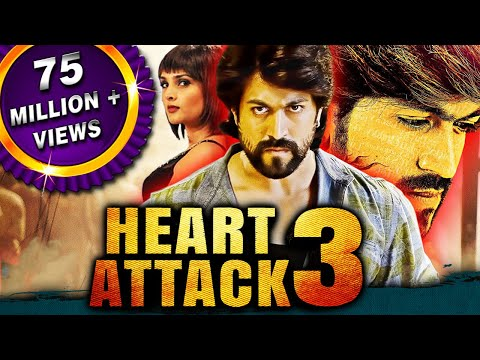 Heart Attack 3 (Lucky) 2018 New Released Full Hindi Dubbed Movie | Yash, Ramya, Sharan