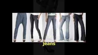 Clothes Vocabulary part 1, Videos for beginners