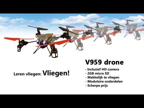 WLtoys V959 Battleship Pro camera-drone