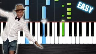 Pharrell Williams - Happy - EASY Piano Tutorial Ноты и М�Д� (MIDI) можем выслать Вам (Sheet music fo
