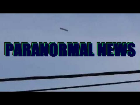 Cigar Shaped UFOs, Close Encounters & other Recent Sightings – Paranormal News / The Trippy Show