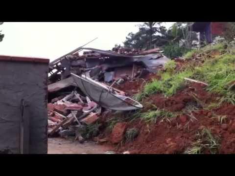 Deslizamento em Guaramirim