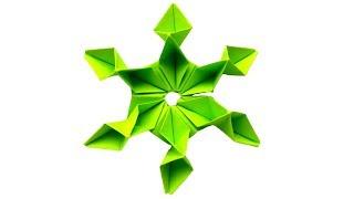 Красивый оригами цветок из бумаги своими руками