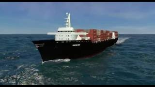 Custom Motion Graphics: Horizon Lines C9Vessel Retrofit