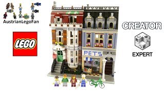 Lego Creator 10218 Pet Shop - Lego Speed Build Review