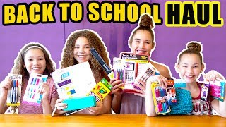 Hi Guys! It's that time of the year again! Back to school shopping is always bitter sweet.  Sweet because we like to shop and bitter because, well... the school part!  j/k!  What types of things do YOU buy for back to school?  Let us know in the comments below!New to our channel? Our names are Madison (17), Gracie (15), Sierra (13) and Olivia (11) and together we are the Haschak Sisters! We have been dancing all of our lives and LOVE music! We just started this YouTube channel and hope you'll join us on our journey! We love meeting new friends!Like our videos? We would LOVE to connect with you online and let you know when we upload future videos on our channel! If you like THIS video and want to help spread the word, it's easy! Simply LIKE, FAVORITE, COMMENT and SHARE this video with YOUR friends on Facebook, Twitter & Instagram! That really helps a lot! We love you!! xoxoOFFICIAL HASCHAK SISTERS LINKSHaschak Sisters Gear Storehttp://Shop.HaschakSisters.comYouTubehttp://YouTube.com/HaschakSistersFacebookhttp://Facebook.com/HaschakSistersTwitterhttp://Twitter.com/HaschakSistersInstagramhttp://Instagram.com/HaschakSisters
