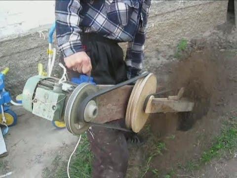 Электрокультиватор своими рука