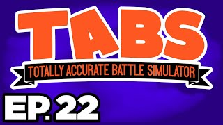 Totally Accurate Battle Simulator Ep.22 - •️ DEFEATING THE REAPER, SPOOKY UNITS (Gameplay Lets Play)