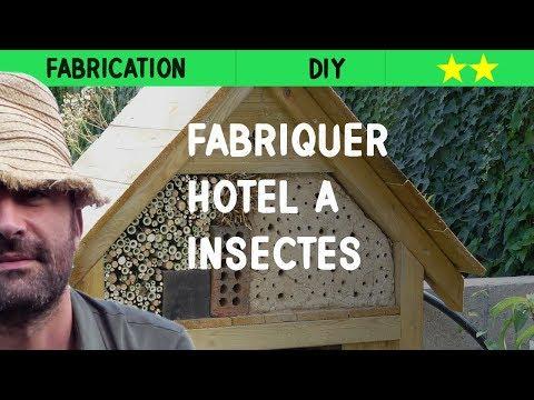 comment construire une maison a insectes