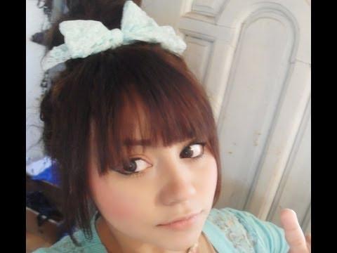 peinados kawaii, peinados lindos y rapidos..♥ hairstyle