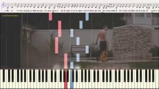 Я просто хочу приехать - Алексей Воробьев (Ноты и Видеоурок для фортепиано) (piano cover)
