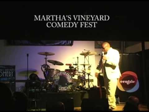 Big Sean Larkins Performing At Martha's Vineyard Comedy Fest