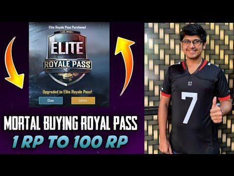 Soul Mortal Buying Season 9 Royal pass | 1st to 100 Rp maxed