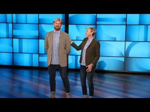 Ellen Introduces Her Stunt Double