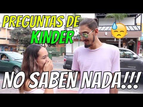 Preguntas de Kinder l No Saben Nada!!! l Preguntas De Cultura General Ep.30